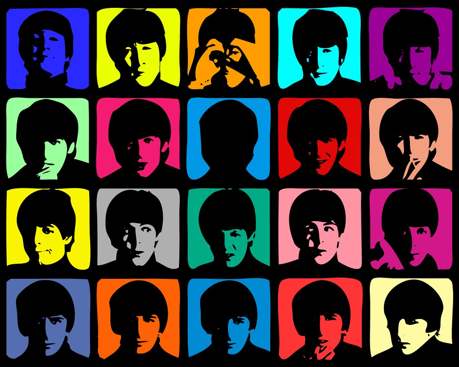 The Beatles Super pop (Auteur : Andy Warhol)